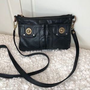 Marc Jacobs Leather Totally Turnlock Crossbody Bag